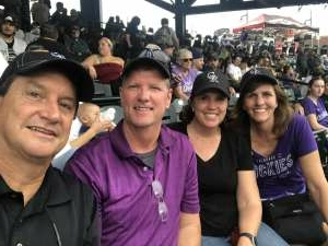 Mike Stewart attended Colorado Rockies vs. Seattle Mariners on Jul 20th 2021 via VetTix
