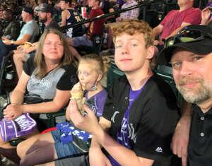CW attended Colorado Rockies vs. Seattle Mariners on Jul 20th 2021 via VetTix