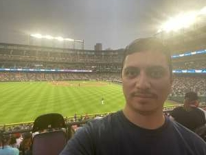 Lorenzo attended Colorado Rockies vs. Seattle Mariners on Jul 20th 2021 via VetTix