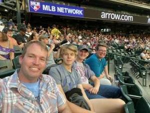 Steve M. attended Colorado Rockies vs. Seattle Mariners on Jul 20th 2021 via VetTix