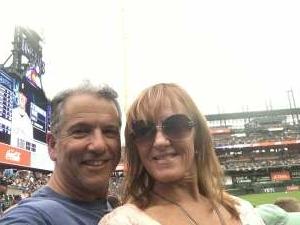 Gary attended Colorado Rockies vs. Seattle Mariners on Jul 20th 2021 via VetTix