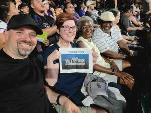 Sonny attended Colorado Rockies vs. Seattle Mariners on Jul 20th 2021 via VetTix