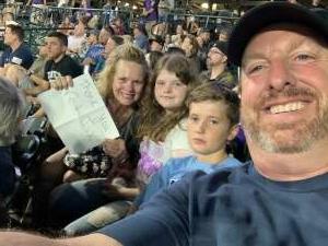 Kellie attended Colorado Rockies vs. Seattle Mariners on Jul 20th 2021 via VetTix
