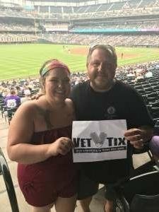 Jon attended Colorado Rockies vs. Seattle Mariners on Jul 20th 2021 via VetTix