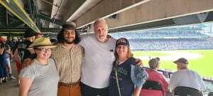 Wolf attended Colorado Rockies vs. Seattle Mariners on Jul 21st 2021 via VetTix