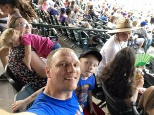 Dan attended Colorado Rockies vs. Seattle Mariners on Jul 21st 2021 via VetTix