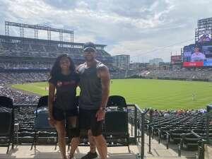 Nelse attended Colorado Rockies vs. Seattle Mariners on Jul 21st 2021 via VetTix
