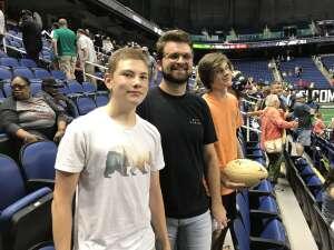 Charlie attended Carolina Cobras vs Orlando Predators - NAL on Jul 17th 2021 via VetTix