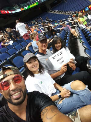 Mike attended Carolina Cobras vs Orlando Predators - NAL on Jul 17th 2021 via VetTix
