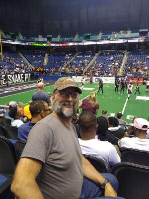 Joe attended Carolina Cobras vs Orlando Predators - NAL on Jul 17th 2021 via VetTix