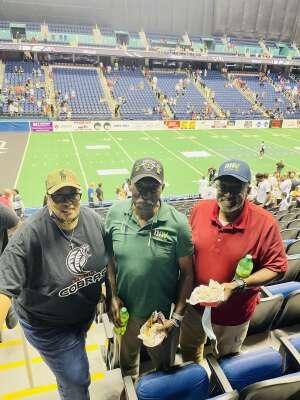 KELLY attended Carolina Cobras vs Orlando Predators - NAL on Jul 17th 2021 via VetTix