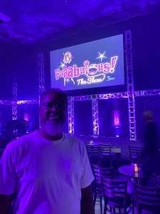 Lloyd  attended Faaabulous! The Show on Jul 16th 2021 via VetTix