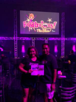 William  attended Faaabulous! The Show on Jul 16th 2021 via VetTix