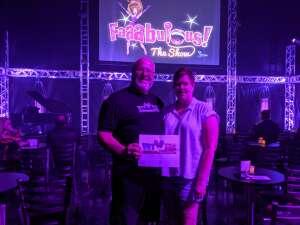 Ray Jason attended Faaabulous! The Show on Jul 16th 2021 via VetTix