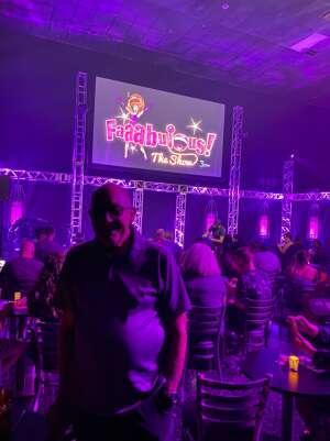 Chris O attended Faaabulous! The Show on Jul 16th 2021 via VetTix