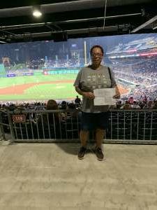 Selena M attended Pittsburgh Pirates vs. Milwaukee Brewers - MLB on Jul 28th 2021 via VetTix