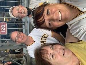 Mark attended Pittsburgh Pirates vs. Milwaukee Brewers - MLB on Jul 28th 2021 via VetTix