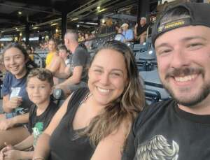 Heidi attended Pittsburgh Pirates vs. Milwaukee Brewers - MLB on Jul 28th 2021 via VetTix