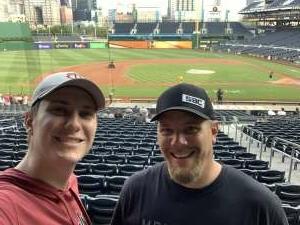 Matt G attended Pittsburgh Pirates vs. Milwaukee Brewers - MLB on Jul 28th 2021 via VetTix