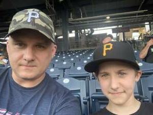 Kris Ptak attended Pittsburgh Pirates vs. Milwaukee Brewers - MLB on Jul 28th 2021 via VetTix