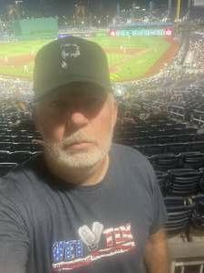 Calvin attended Pittsburgh Pirates vs. Milwaukee Brewers - MLB on Jul 28th 2021 via VetTix