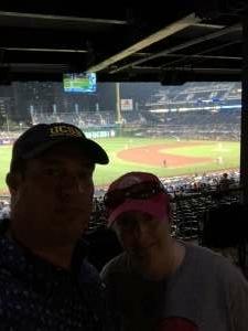 Brett attended Pittsburgh Pirates vs. Milwaukee Brewers - MLB on Jul 28th 2021 via VetTix