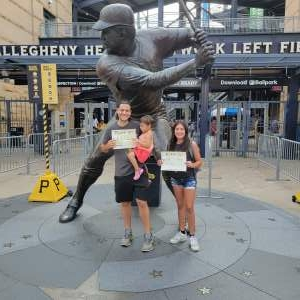 KP attended Pittsburgh Pirates vs. Milwaukee Brewers - MLB on Jul 28th 2021 via VetTix