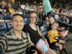 Jake  attended Pittsburgh Pirates vs. Milwaukee Brewers - MLB on Jul 28th 2021 via VetTix