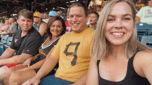 Brandon attended Pittsburgh Pirates vs. Milwaukee Brewers - MLB on Jul 28th 2021 via VetTix