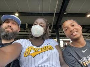 TDH attended Pittsburgh Pirates vs. Milwaukee Brewers - MLB on Jul 28th 2021 via VetTix