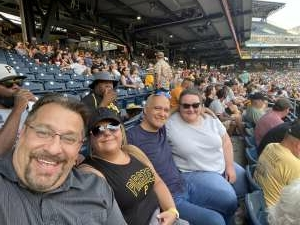 Nathan Humes attended Pittsburgh Pirates vs. Milwaukee Brewers - MLB on Jul 28th 2021 via VetTix