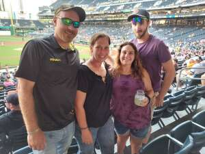 Barry attended Pittsburgh Pirates vs. Milwaukee Brewers - MLB on Jul 28th 2021 via VetTix