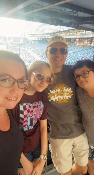 Jon attended Pittsburgh Pirates vs. Milwaukee Brewers - MLB on Jul 27th 2021 via VetTix