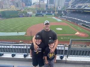 Jesse attended Pittsburgh Pirates vs. Milwaukee Brewers - MLB on Jul 27th 2021 via VetTix