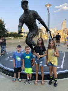 Mark  attended Pittsburgh Pirates vs. Milwaukee Brewers - MLB on Jul 27th 2021 via VetTix