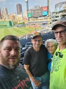 Bill attended Pittsburgh Pirates vs. Milwaukee Brewers - MLB on Jul 27th 2021 via VetTix