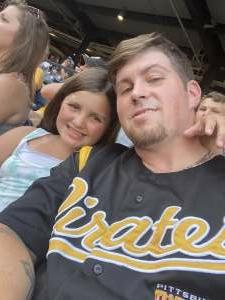 Brandon attended Pittsburgh Pirates vs. Milwaukee Brewers - MLB on Jul 27th 2021 via VetTix