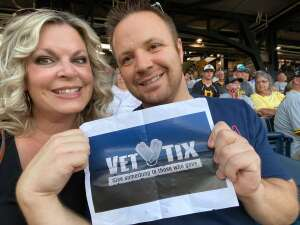 Sam attended Pittsburgh Pirates vs. Milwaukee Brewers - MLB on Jul 27th 2021 via VetTix