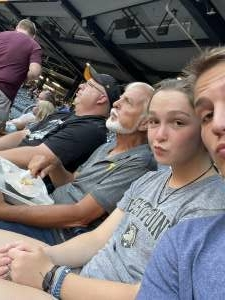 Chuck attended Pittsburgh Pirates vs. Milwaukee Brewers - MLB on Jul 27th 2021 via VetTix