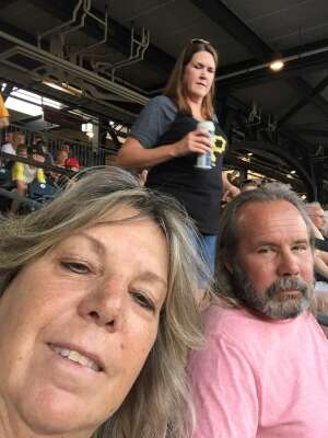 KB attended Pittsburgh Pirates vs. Milwaukee Brewers - MLB on Jul 27th 2021 via VetTix