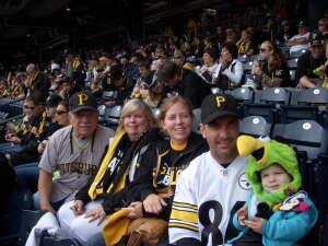 RONALD WALKER attended Pittsburgh Pirates vs. Milwaukee Brewers - MLB on Jul 27th 2021 via VetTix