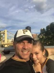 Jeff  attended Pittsburgh Pirates vs. Milwaukee Brewers - MLB on Jul 27th 2021 via VetTix
