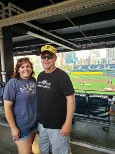 Jason attended Pittsburgh Pirates vs. Milwaukee Brewers - MLB on Jul 27th 2021 via VetTix