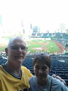 Steve K. attended Pittsburgh Pirates vs. Milwaukee Brewers - MLB on Jul 27th 2021 via VetTix