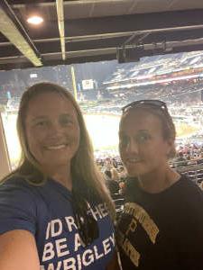 Samantha attended Pittsburgh Pirates vs. Milwaukee Brewers - MLB on Jul 29th 2021 via VetTix