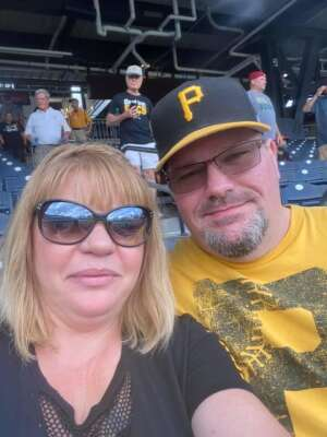 Patrick attended Pittsburgh Pirates vs. Milwaukee Brewers - MLB on Jul 29th 2021 via VetTix