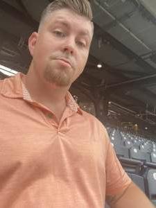 Brandon attended Pittsburgh Pirates vs. Milwaukee Brewers - MLB on Jul 29th 2021 via VetTix