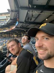 Jim attended Pittsburgh Pirates vs. Milwaukee Brewers - MLB on Jul 29th 2021 via VetTix