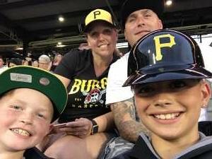 Scott B attended Pittsburgh Pirates vs. Milwaukee Brewers - MLB on Jul 29th 2021 via VetTix