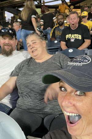 Robert attended Pittsburgh Pirates vs. Milwaukee Brewers - MLB on Jul 29th 2021 via VetTix
